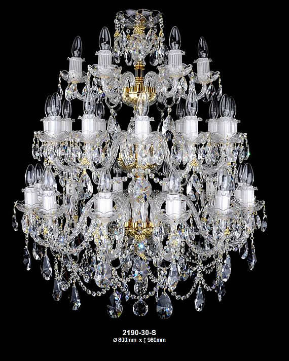 Czech chandeliers crystal glassware lamps crystal chandeliers aloadofball Image collections