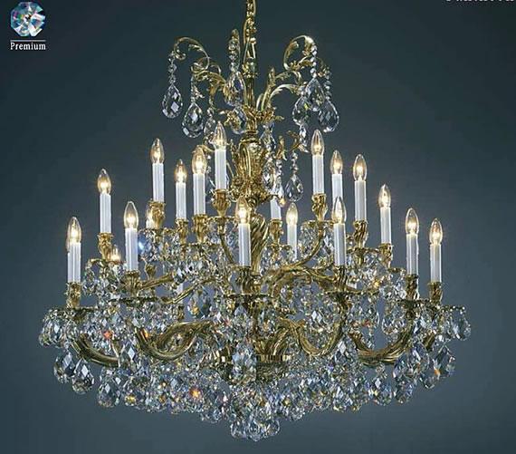 Czech Chandeliers, Crystal Glassware, Lamps