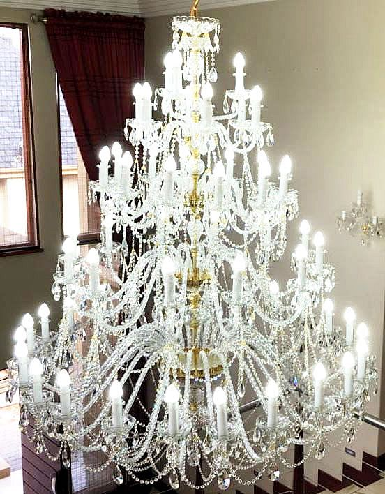 Czech chandeliers crystal glassware lamps aloadofball Image collections